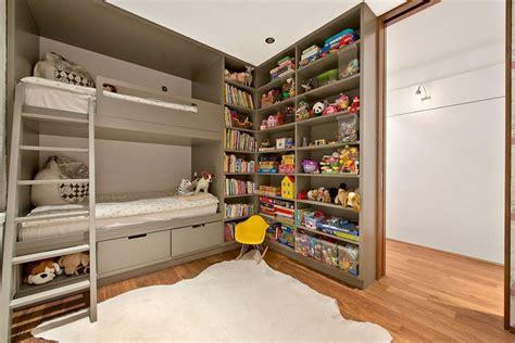 custom built bunk beds contemporary bedroom with custom built in bunk beds