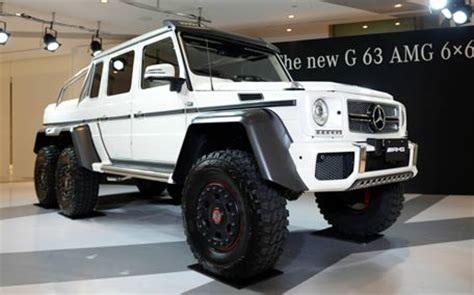 forget 4x4, here is new 6x6 mercedes benz g63 emirates 24|7