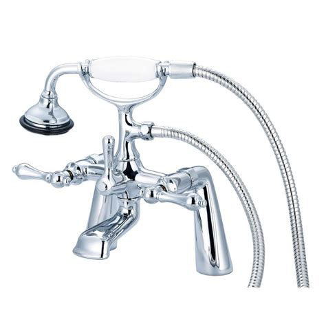 vintage bathtub faucets water creation 3 handle vintage claw foot tub faucet with