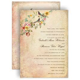 vintage invitations vintage wedding invitations invitations by