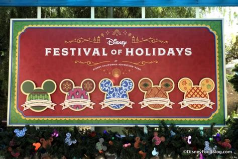look and review festival of holidays at disney california adventure soft opening