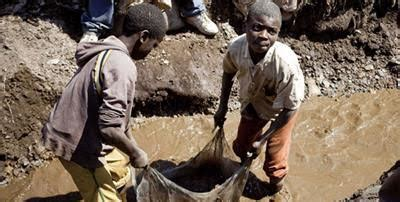 democratic republic of congo child labor mining tech giants are using cobalt from mines that use child