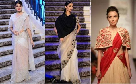 different types of hairstyles in saree stunning innovative saree draping styles saree guide