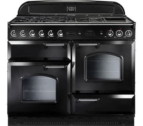 old range buy rangemaster classic 110 gas range cooker black