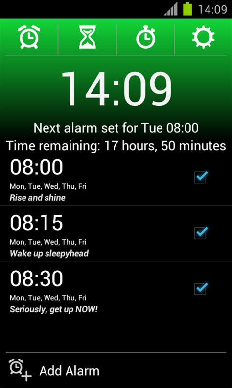 alarm app for android 16 awesome apps that will up and kick start your morning