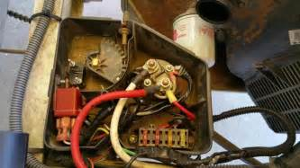 club car villager 6 modified to idle starter not