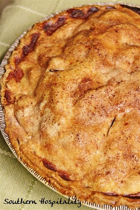 southern apple pie recipe