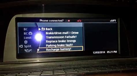 Bmw Serie 1 Probleme Batterie by Bmw E65 E66 Alternator Fault Generator Fault Problem Fix