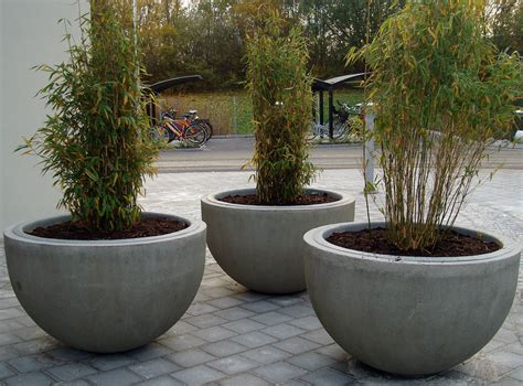 design planters concrete flower pot designs interior design ideas