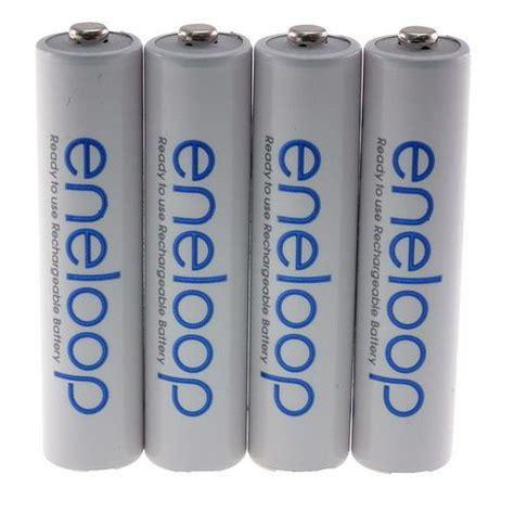 Sanyo Eneloop Rechargeable Aaa Ni Mh Batteries 750mah 4 Pcs 3 4x panasonic aaa eneloop nimh 800mah rechargeable