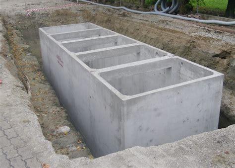vasche in cemento armato vibrato idea trattamento acque