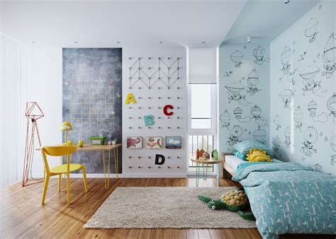 Kinderzimmer Theme by Two Different Springtime Themes In Two Small Apartments
