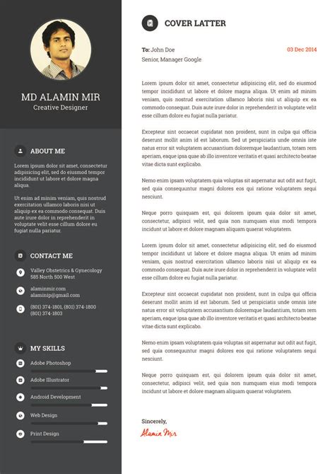 curriculum vitae web page design exle 7 i will design resume awesome cv for you for