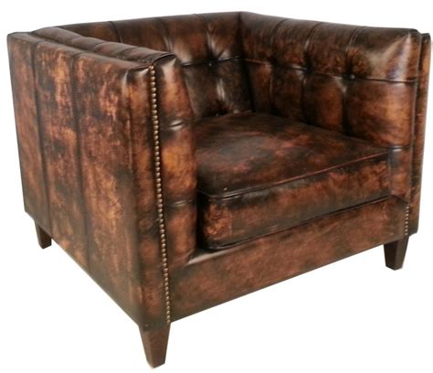 buy leather armchair cape town vintage chunky leather square armchair buy