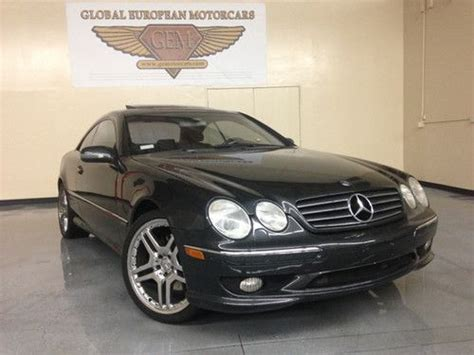 how make cars 2002 mercedes benz cl class navigation system sell used 2002 mercedes benz cl class in corona california united states for us 12 888 00