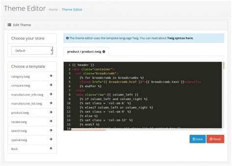 theme editor for opencart what s new in opencart 3