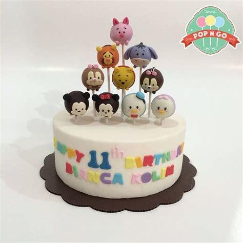 Tsum Tsum Birthday Cakes 6 Tsum Tsum Cake Pops Tsum Tsum Disney