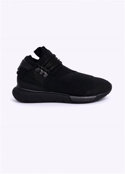 Adidas Y3 Yohji Yamamoto Qasa High adidas y 3 qasa high trainers black