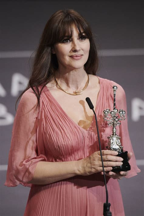 monica bellucci awards monica bellucci donostia award 65th san sebastian film