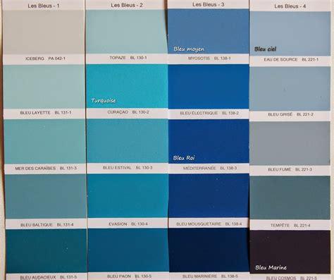 Nuances De Bleus by Les Couleurs Et Leurs Noms Le Cas Du Bleu Unik