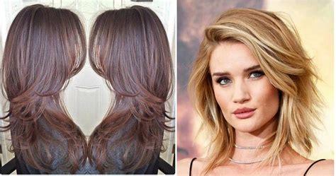 como cortarse el cabello en capas largas corte en capas pelo corto facilisimo