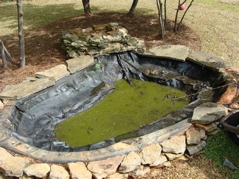 How To Make Pond In Backyard by The Walker Family Backyard Pond Before And After