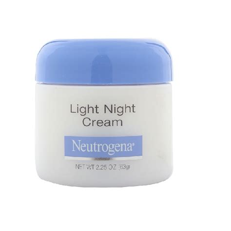 neutrogena light night cream how to pick the right night cream for your skin type
