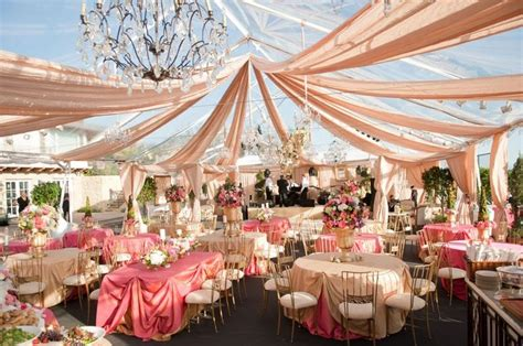 wedding tent decoration very elegant carol pinterest