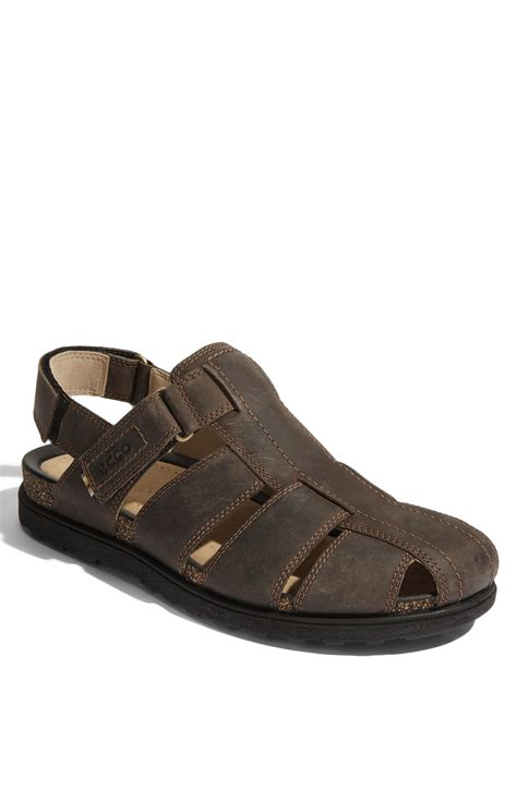 fisherman sandals ecco fisherman sandal in brown for clay