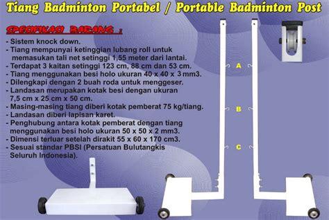 Net Badminton Rs Bn 170 jual perlengkapan olahraga bulutangkis badminton