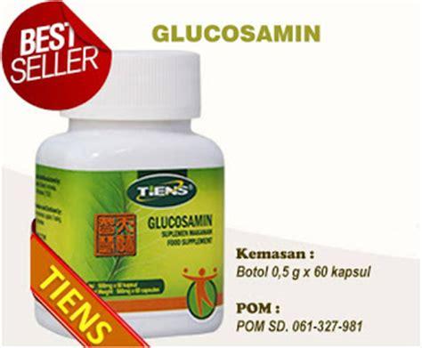 Tianshi Glukosamin Kapsul jual produk tiens obat sakit lutut glukosamin tiens