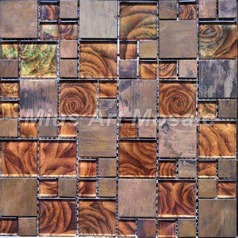 Copper Kitchen Backsplash Tiles Popular Copper Glass Tile Backsplash Buy Cheap Copper