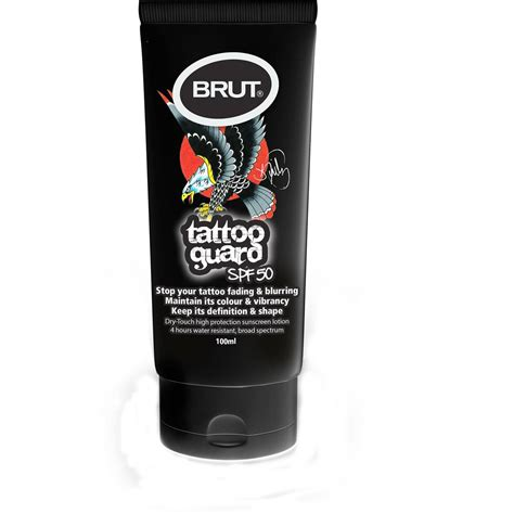 brut tattoo brut sun care guard 100ml woolworths