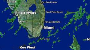 Miami Weather Map by Weather Forecast Cold Front Coming Wednesday Nbc 6