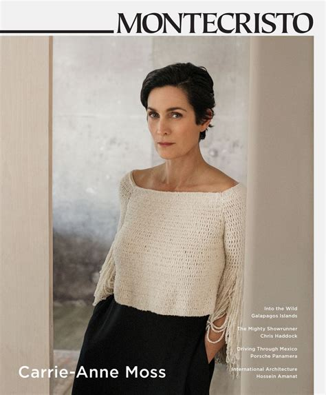 Carrie Moss In New by Carrie Moss For Montecristo Magazine Hawtcelebs