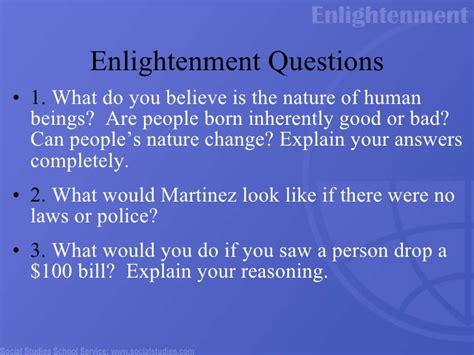 Are Human Beings Inherently Evil Essay by The Enlightenment