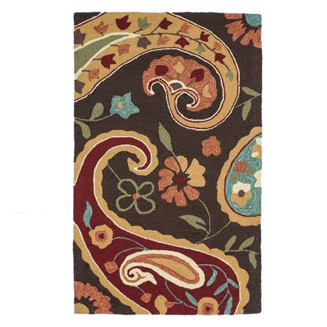 summerton collection rug loloi rugs summerton style collection chocolate multi 2 ft 3 in x 3 ft 9 in accent rug