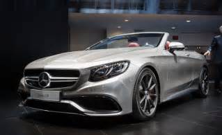 Mercedes Coupe Convertible Mercedes Amg S63 Cabriolet 130 Edition Revealed At Naias