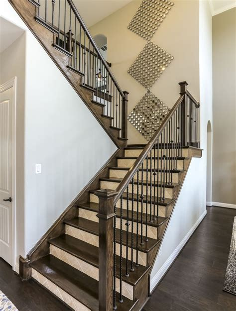 U Shaped Stairs Design 17 Best Images About Gehan Homes Stairway Gallery On Beam Ceilings Home And