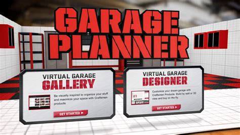 garage layout app craftsman rolls out 3d garage storage design app