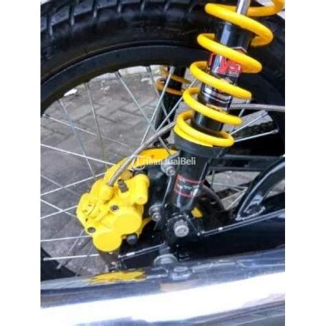 repaint motor yamaha rx king tahun 2002 modifikasi repaint kuning surat