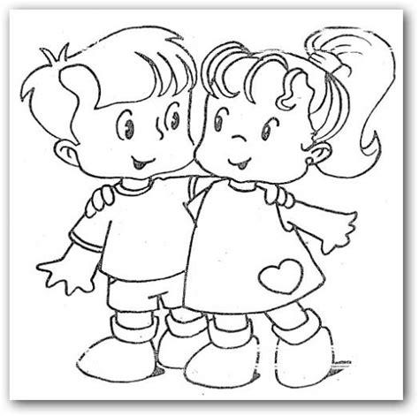 imagenes para colorear sobre la amistad im 225 genes de amistad para colorear dibujos para colorear