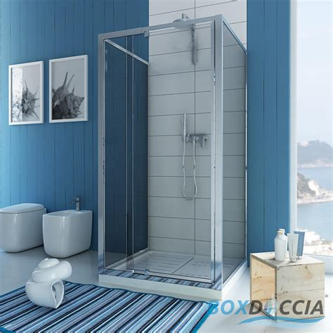 shower enclosure 3 sided pivot door hinge cubicle glass