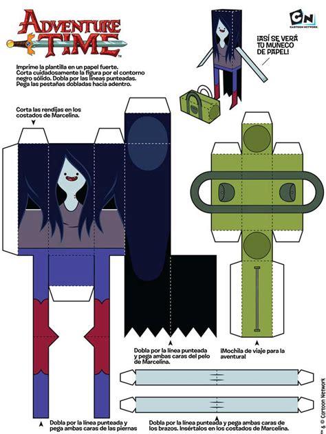 Papercraft Gratis - 5 papercraft de hora de aventura gratis taringa