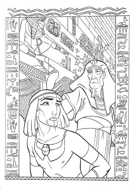 imagenes biblicas para colorear de moises pr 237 ncipe de egipto dibujos para imprimir y colorear