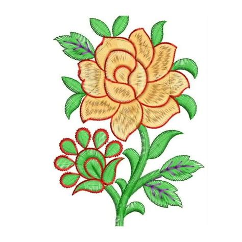 embroidery design hd pillow flower embroidery designs