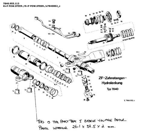 Steering Rack Rebuild Question Rennlist Porsche