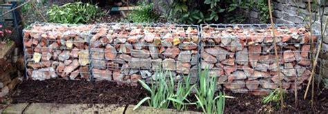 garden baskets wall gabion landscaping wall ideas gabion1 uk