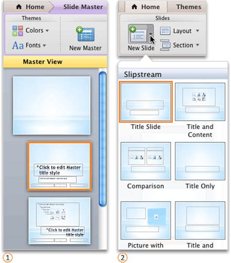change layout of ppt create or change slide layouts powerpoint for mac