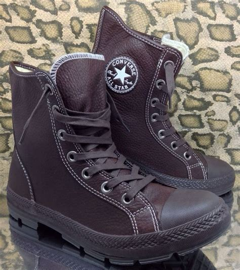 best 25 leather converse ideas on converse